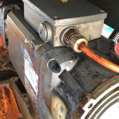 當天修好鏜銑床西門子系統主軸電機編碼器故障