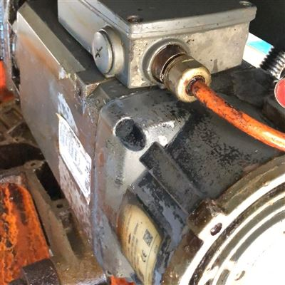 当天修复重型卧式车床西门子系统报25000编码器故障