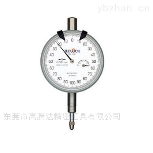 日本TECLCOK得乐 千分表0.001mm