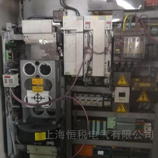 西门子驱动器6SE70开机电机不转又报警