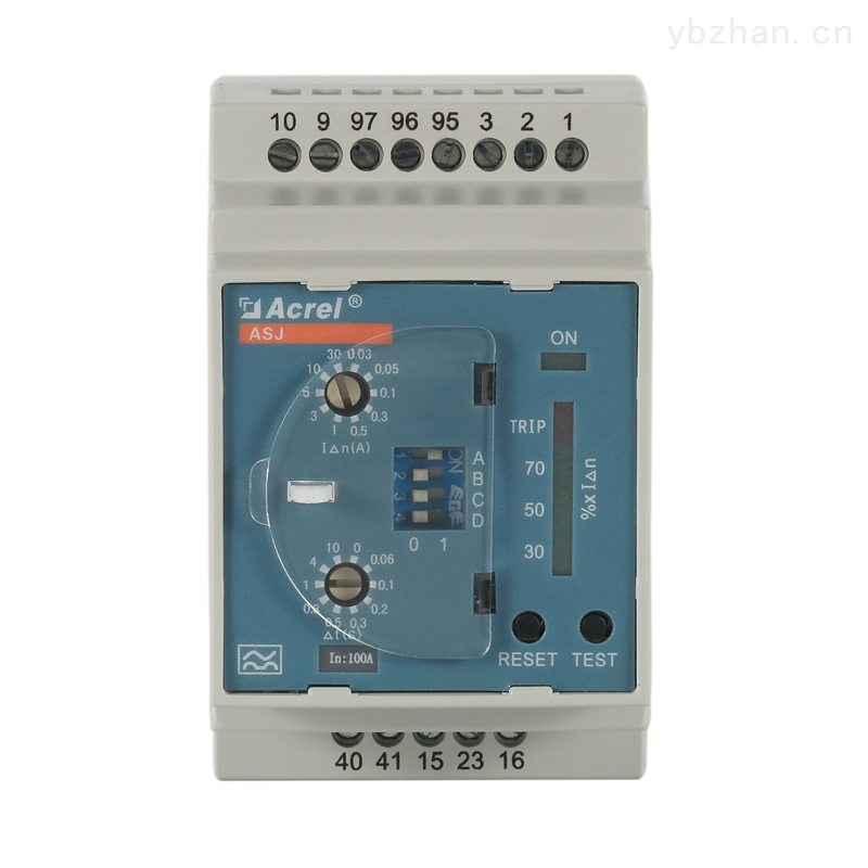 安科瑞智能电力剩余电流继电器两组输出