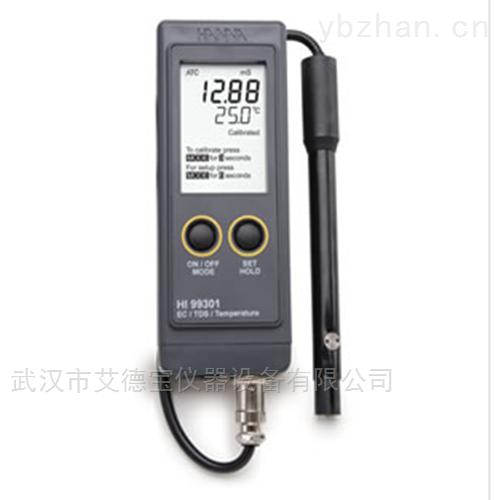 防水型便携式EC/TDS/温度测定仪