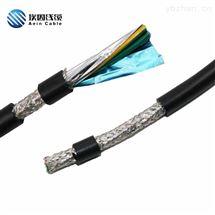 PUR-RVV柔性抗拉聚氨酯蓄缆筐电缆 港口吊具电缆