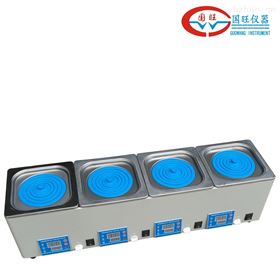 HH-4四孔电热恒温水浴(独立控温)*