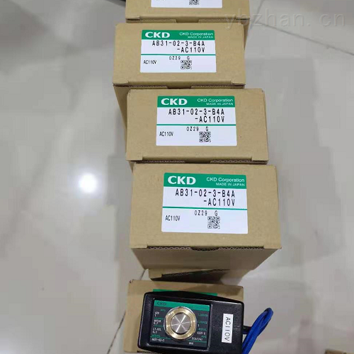 AG31-02-2-AC220V,经销CKD电磁阀