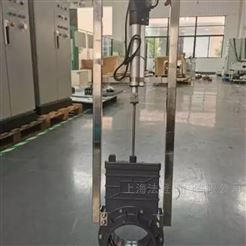VTPZ973H-10P电动PVC塑料刀闸阀作用 养猪场排渣用插板阀