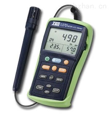 红外线二氧化碳测试器TES-1370