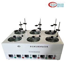 GWJ-6D六孔异温磁力搅拌水浴锅