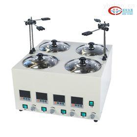 GWJ-4D四孔异温磁力搅拌水浴锅