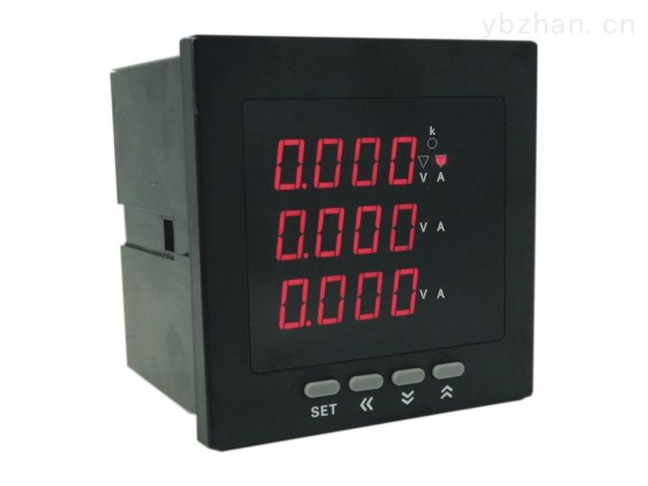 AOB192Z-7X4-3U3I数显三相电压三相电流组合表-72x72