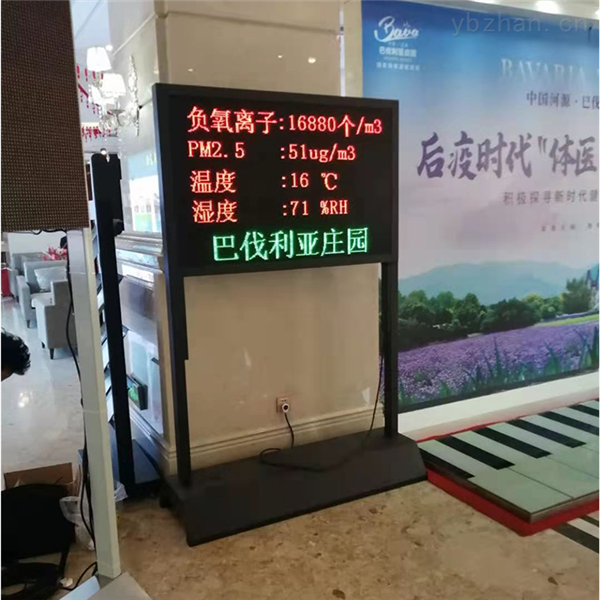 温州4A风景区负氧离子监测仪