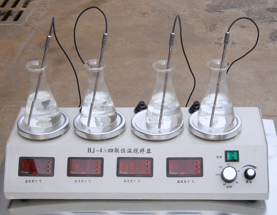 数显多头恒温磁力加热搅拌器