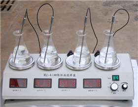 CJJ-4A数显多头恒温磁力加热搅拌器