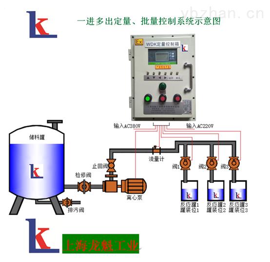 上海罐装乙醇定量控制系统防爆型