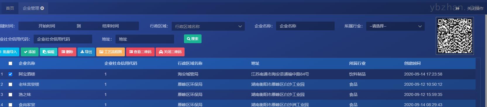 安徽铜陵油烟排污数据监测