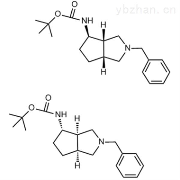tert-butyl (3aR,4S,6aS)-2-benzyloctahydrocyclopenta[c]pyrrol-4-ylcarbamate compound with tert-but...
