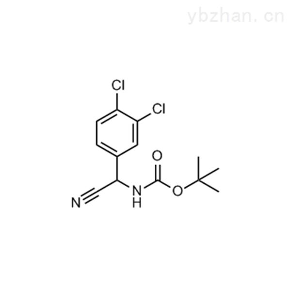 tert-Butyl n-[cyano(3,4-dichlorophenyl)methyl]carbamate
