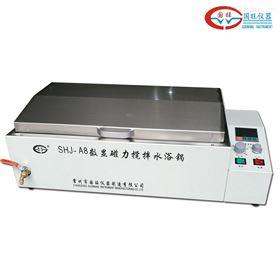 SHJ-A8八孔水浴恒温磁力搅拌器