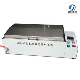 SHJ-A6水浴恒溫磁力攪拌器