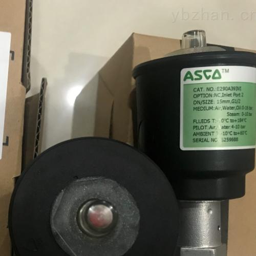 美国ASCO直动式角座阀E290A393VI