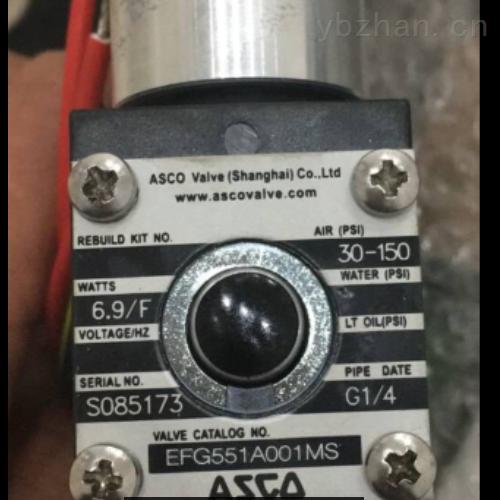 ASCO捷高2位2通先导式阀JKF8262H007
