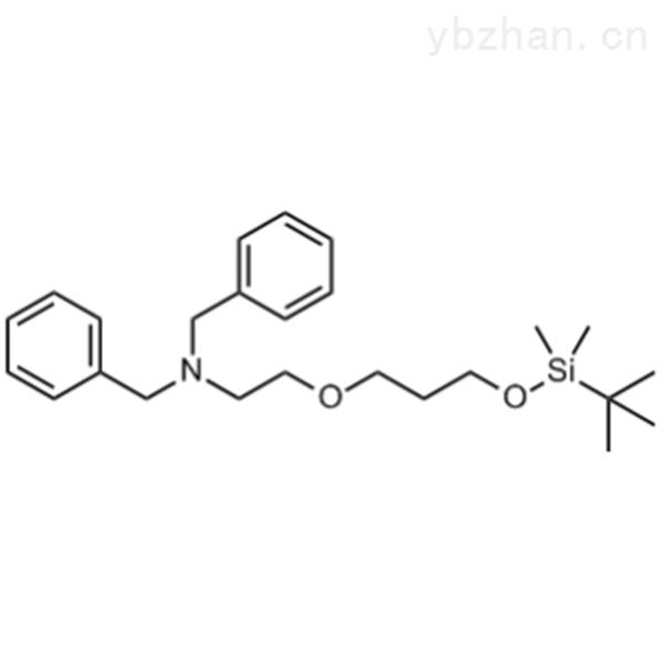 N,N-Dibenzyl-2-(3-((tert-butyldimethylsilyl)oxy)propoxy)ethanamine