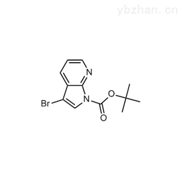 tert-butyl 3-bromo-1H-pyrrolo[2,3-b]pyridine-1-carboxylate