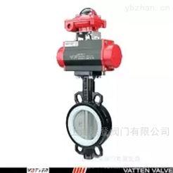 VT1ASW11A双作用气动碳钢蝶阀 气动高温密封蝶阀价格