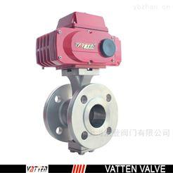 VQ941F流体管道应用球阀 不锈钢电动对夹球阀