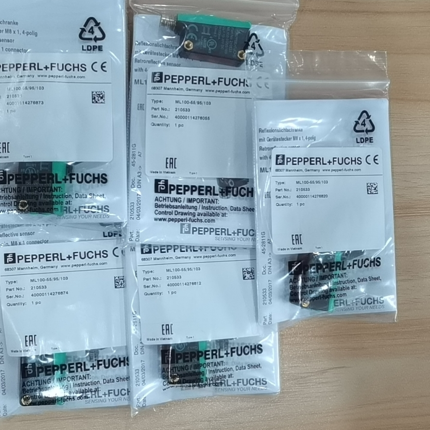 德国P+F倍加福210533反射板型传感器