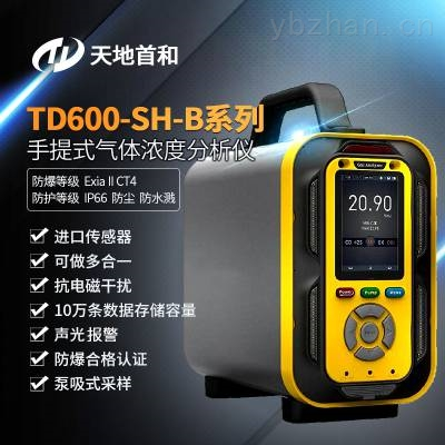 TD600-SH-B-VOC手提式VOC分析仪防水、防尘、防爆、防震