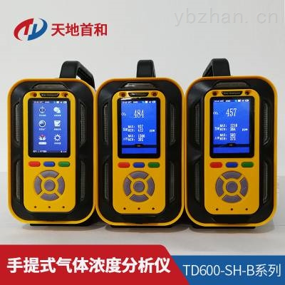 TD600-SH-B-F2手提式氟气分析仪防水、防尘、防爆、防震