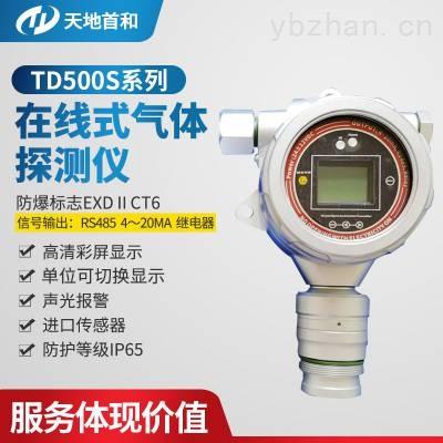 声光报警在线式二氧化氯残留气体超标检测报警仪探头TD500S-CLO2