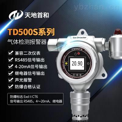 声光报警在线式二硫化碳气体泄漏浓度超标检测报警仪探头TD500S-CS2