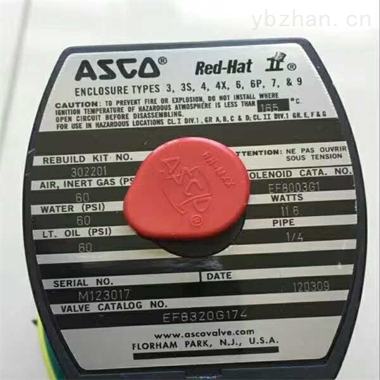 美ASCO电磁阀中文样本