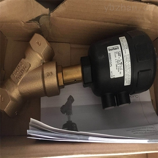 BURKERT流体控制阀产品目录