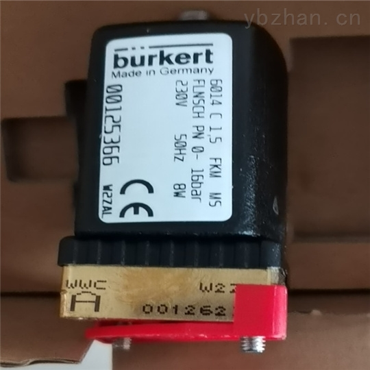 BURKERT电磁阀使用方式