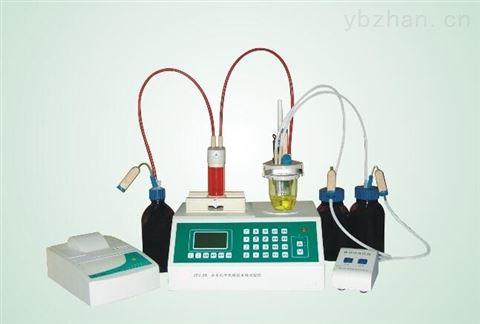 全自动卡氏水分测定仪