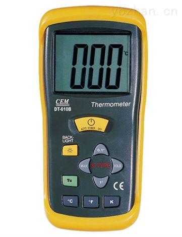 单/双通道接触式测温仪DT-613