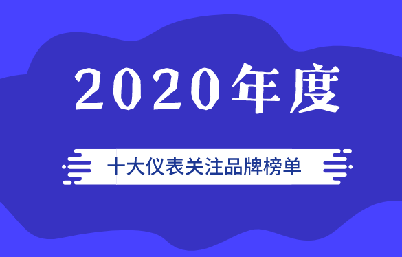 儀表網2020年度第六屆十大儀表關注品牌上榜企業
