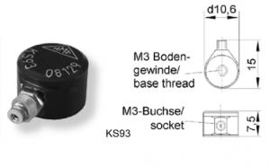 KS93微型速度传感器