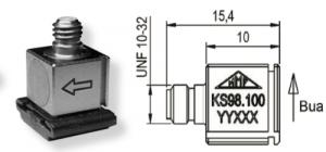 KS98.100微型加速度传感器