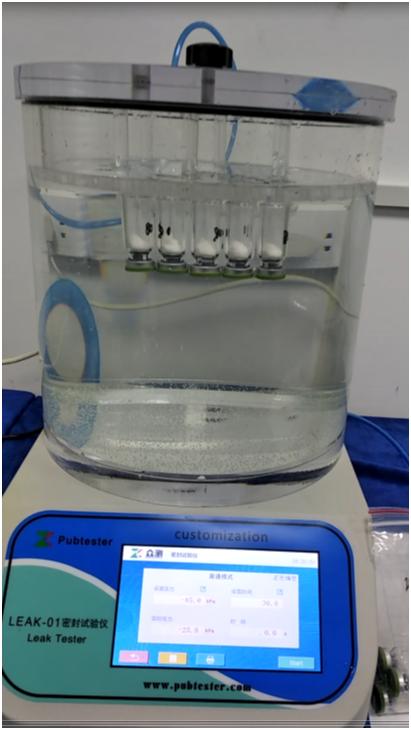 西林瓶密封性测试仪